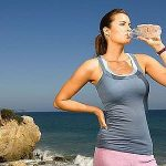 Picture about Drinking lots of Water helps you Lose Weight