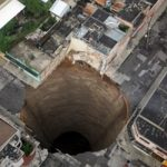 Picture about Giant Sinkhole Pierces Guatemala