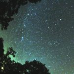 Picture about Perseid meteor shower
