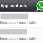 Picture about WhatsApp Status Error Message - Logo should Turn Red Hoax
