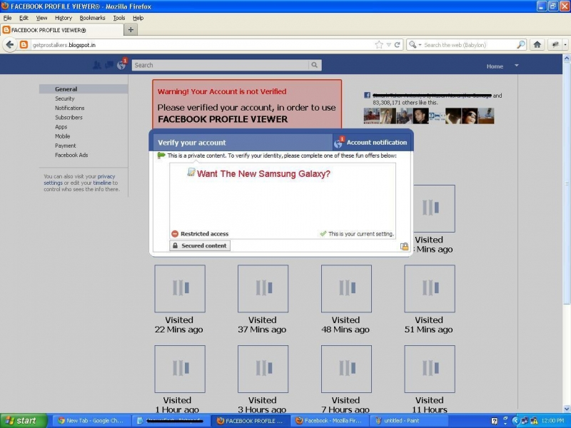 Facebook Profile Viewers App Scam6 - Hoax Or Fact
