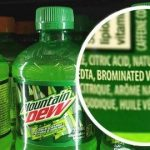 Picture about Mountain Dew Contains a Toxic BVO Chemical