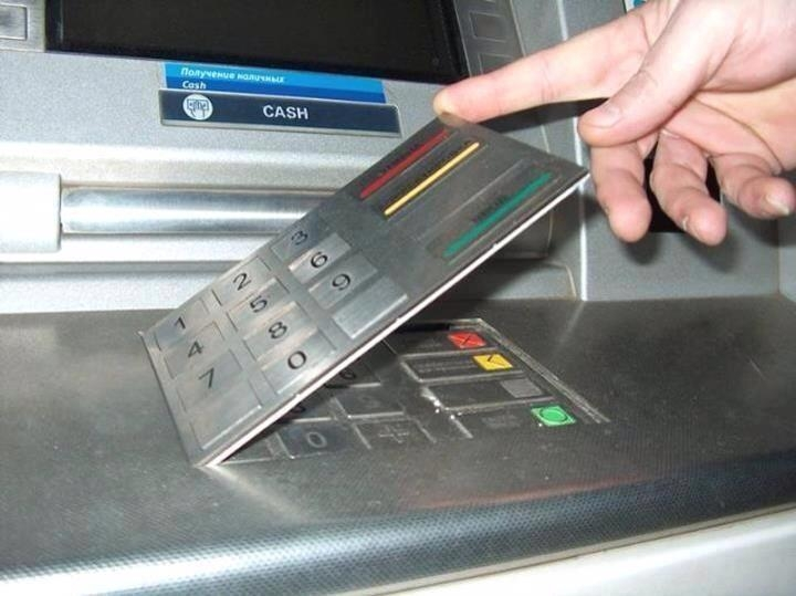Picture about Fake Digital Pads in ATMs as a Skimming Device to Steal Information