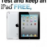 Picture about Test and Keep an iPad for Free