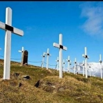 Picture about Dying is Illegal in Longyearbyen, Norway
