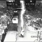 Picture about Man Survives Being Hit by Lightning Twice in Remarkable CCTV Footage
