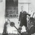 Picture about Jack, the Baboon Employed as a Signalman by a Railroad