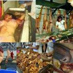 Picture Warning Human Meat Sold in China and Taiwan