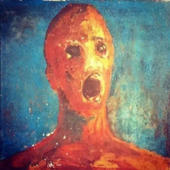 Picture about The Anguished Man, a Haunted Painting Causing Paranormal Activity
