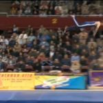 Picture from Gymnastics Springboard Break, Stunt Gone Wrong, Video