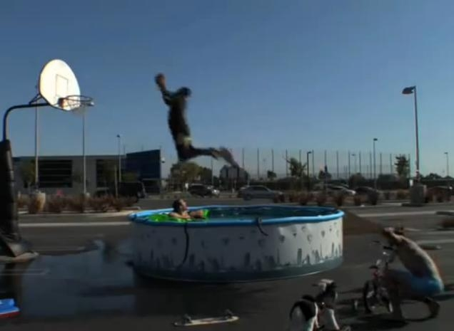 Picture about Kobe Bryant Jumps Over a Pool of Snakes!!