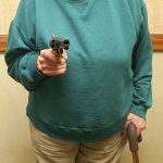 Picture Suggesting 60 Year Old Woman Shot 2 Teens Attempting to Play 'Knock out' Game