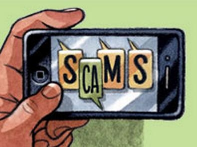 Picture Suggesting 'Your Google Account Has Been Hacked' Phone Text Scam