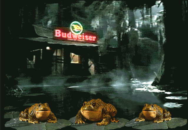 Picture about Budweiser Frogs Screensaver Virus Email