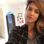 Picture Suggesting Jessica Alba Captures David Bowie's Ghost in Selfie