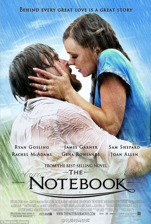 Picture Suggesting Filming of Sequel Movie 'The Notebook 2' Started