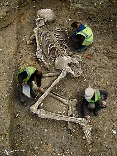 Discovery Channel Found 80 Feet Giant Human Skeleton in