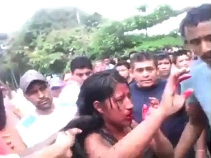 Picture of Girl Beaten Badly and Burnt Alive in India for Inter-Religious Marriage, Video