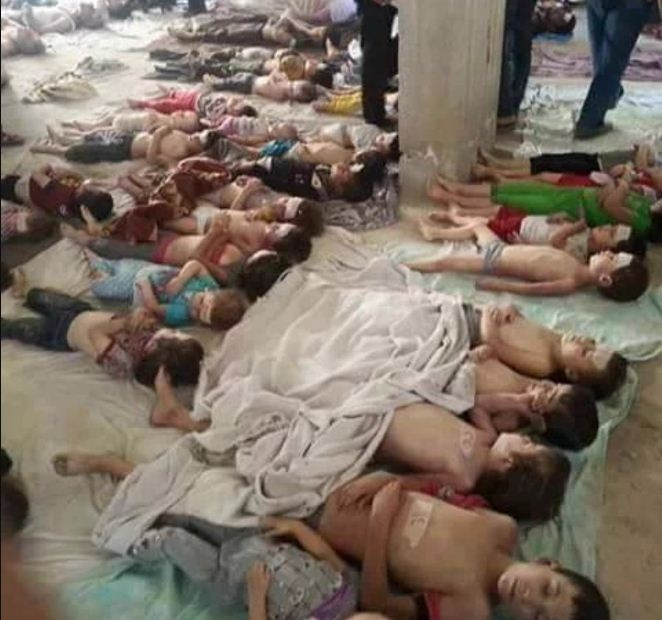 Picture Suggesting to Show Dead Bodies of Hundreds of Kidnapped Children Found in Container, Organs Removed